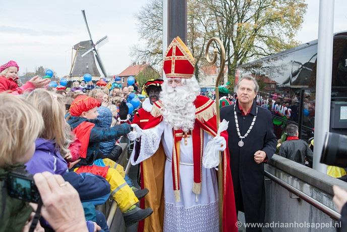 Han Noten verwelkomt nog één keer Sinterklaas en zijn Pieten in Dalfsen