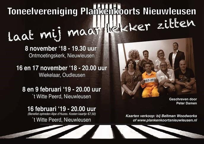 Toneelvereniging Plankenkoorts uit Nieuwleusen - Foto: eigen geleverde foto