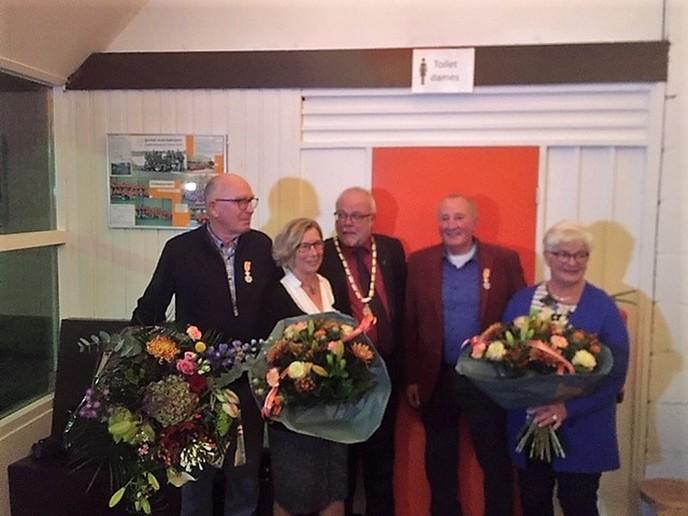 Lintje voor Bert van Leussen en Derk Jan Wennemars