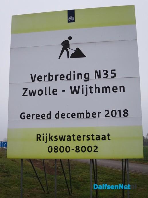 N 35 Koelmansstraat tot Zwolle bijna gereed - Foto: Wim