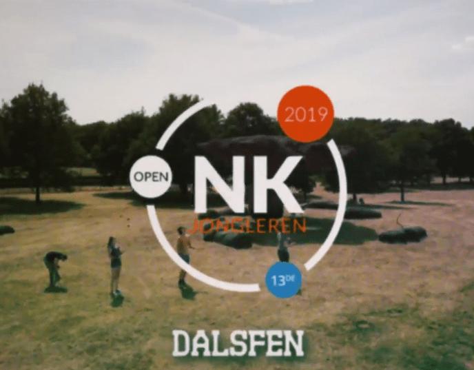 De NK jongleren is dit keer in Dalfsen - Foto: eigen geleverde foto
