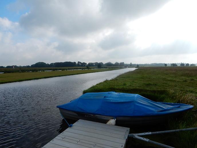 Vechtoever moet vrij van obstakels voor waterafvoer - Foto: eigen geleverde foto
