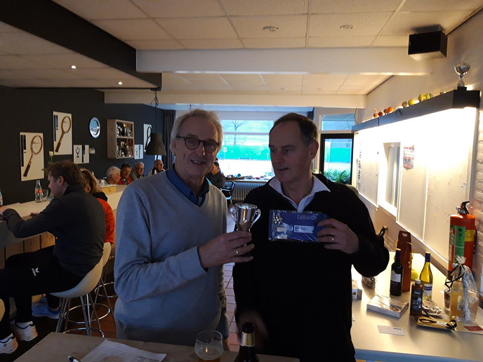 Ruud Schuuring winnaar Snerttoernooi DLTC Tennis - Foto: eigen geleverde foto