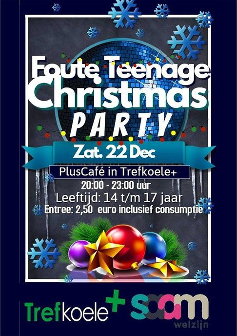 Vanavond Foute Kerst Party in de Trefkoele+