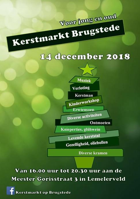 Kerstmarkt Lemelerveld bij de Brugstede - Foto: eigen geleverde foto