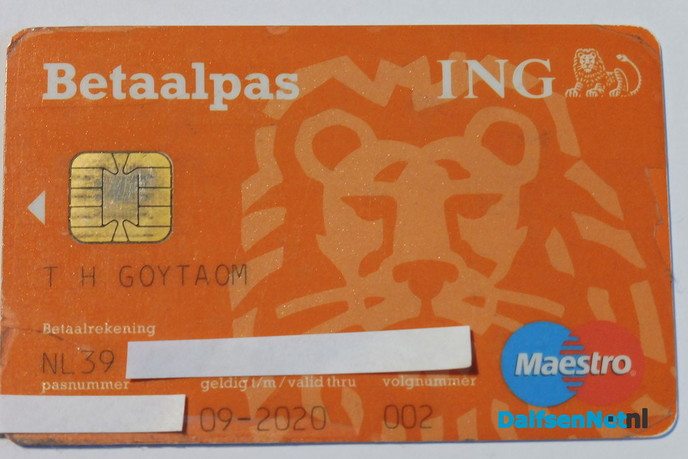 Bankpas gevonden - Foto: Ingezonden foto
