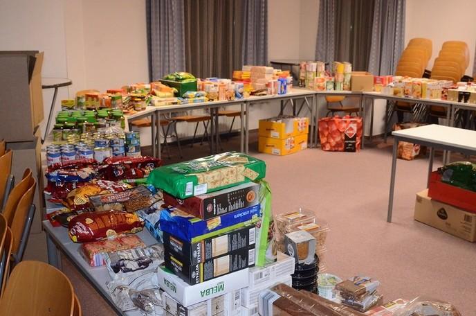Meer dan honderd adressen voedselpakket - Foto: eigen geleverde foto