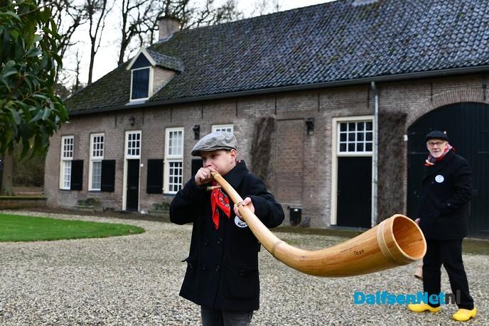De Midwinterhoornbloasgroep Dals'n eo gaan weer vol gas! - Foto: Johan Bokma
