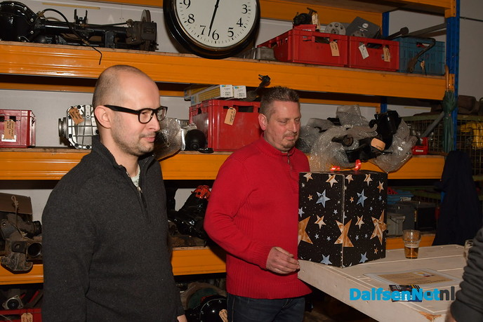 Dubbelfeest bij Autobedrijf Promax in Dalfsen - Foto: Johan Bokma