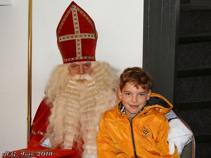 De Sint ook in Oudleusen