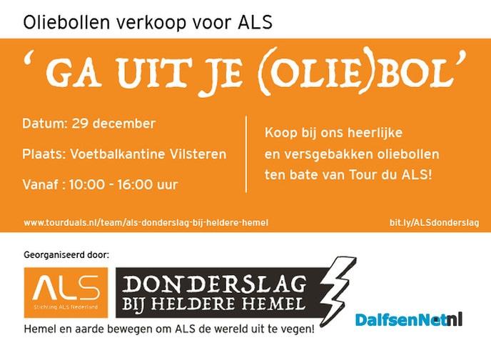 Heerlijke oliebollen voor Tour de ALS - Foto: Ingezonden foto