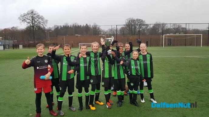 JO12-3 FC Dalfsen overtuigend kampioen - Foto: Ingezonden foto