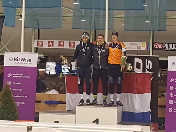 Stefan Westenbroek Nederlands kampioen sprint - Foto: eigen geleverde foto