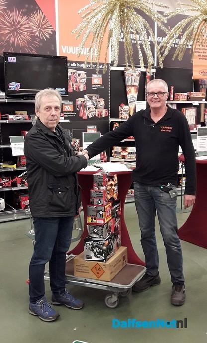Vuurwerkwinnaar bij Welkoop - Foto: Ingezonden foto