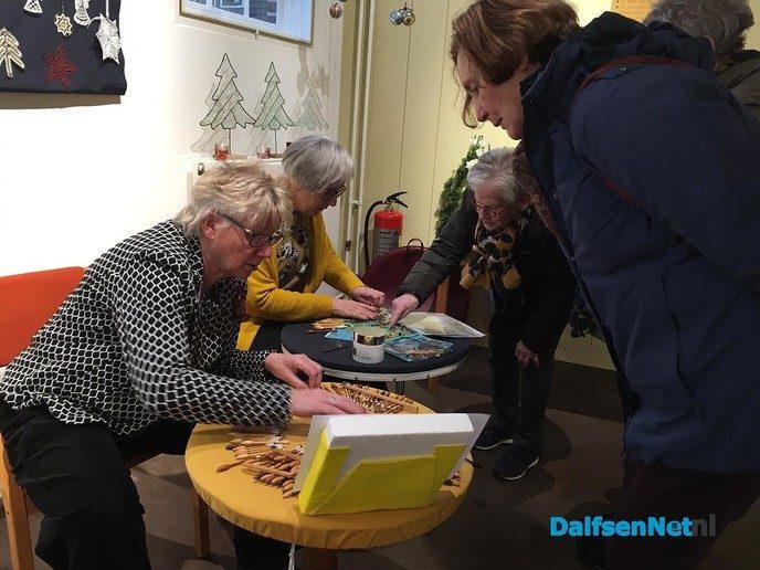 Enthousiaste reacties expositie Kantklossen - Foto: Ingezonden foto