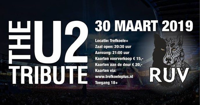 Trefkoele+ Live presenteert: The U2 Tribute