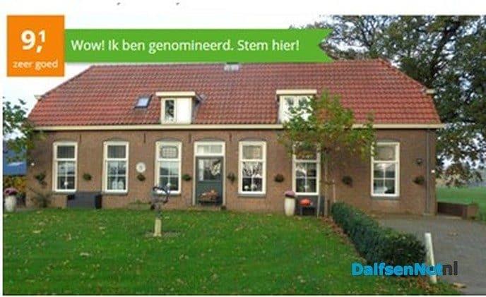 Huize Goltstein wederom genomineerd - Foto: Ingezonden foto
