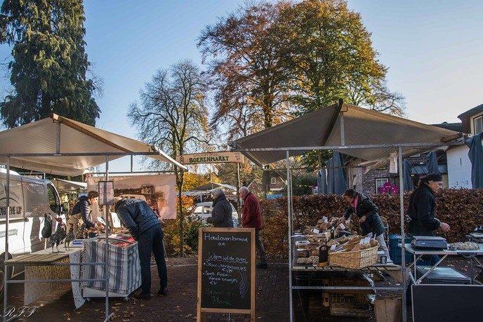 Boeren markt Vilsteren - Foto: eigen geleverde foto