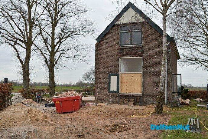 Renovatie sluiswachterswoning Vechterweerd - Foto: Johan Bokma