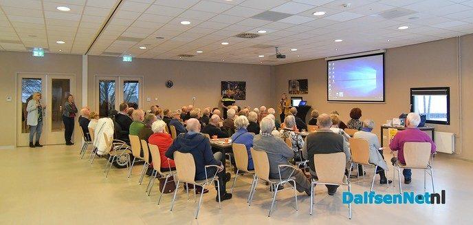Voorlichtingsbijeenkomst Politie Brandweer goed bezocht - Foto: Johan Bokma