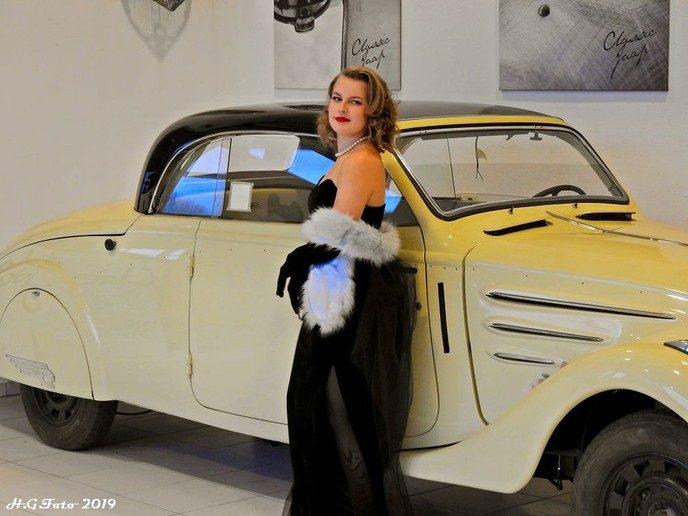 Eerste voorronde Miss Pinup Benelux-verkiezing