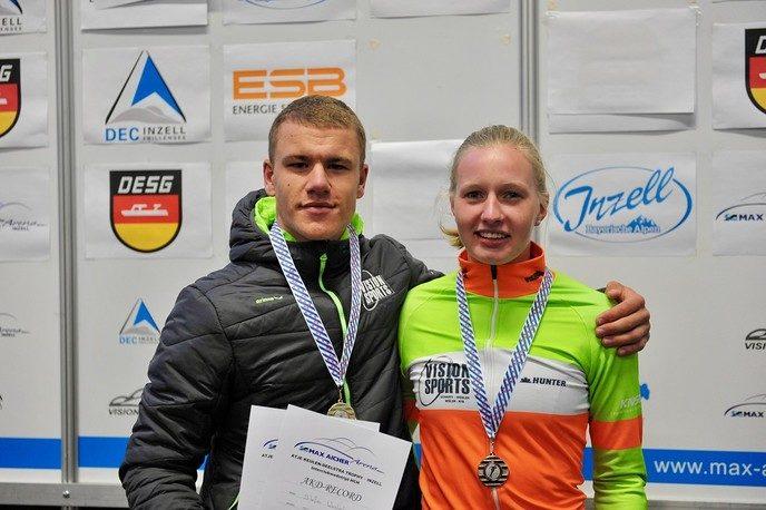 Famke Minnee en Stefan Westenbroek naar NK allround - Foto: eigen geleverde foto