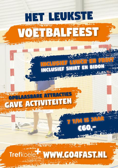 Zaalvoetbalkamp Trefkoele+ Dalfsen - Foto: eigen geleverde foto