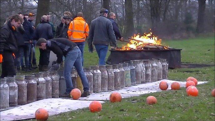 Carbid schieten regio Oudleusen – Nieuwleusen 2018 (Video)