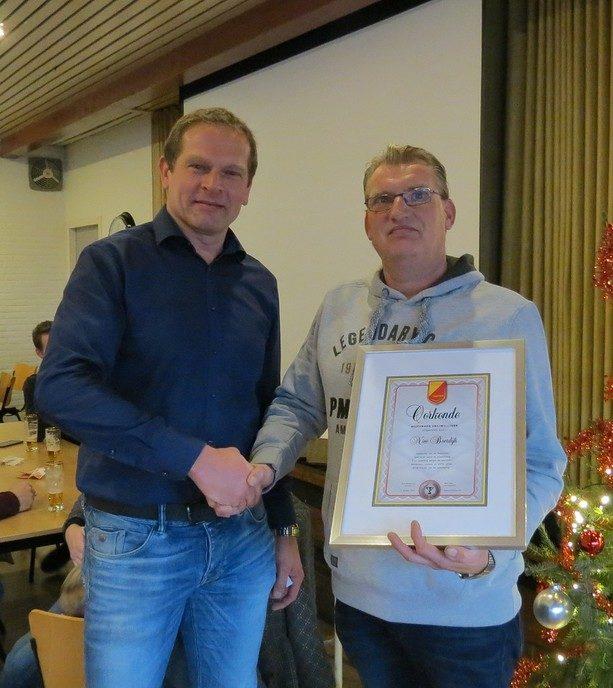 SV Dalfsen proost op het nieuwe jaar - Foto: eigen geleverde foto