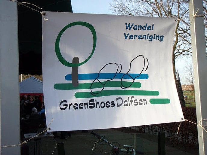 Wandelvereniging Greenshoes is geen groentje meer - Foto: eigen geleverde foto