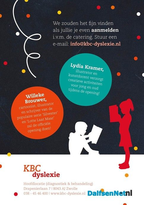 Opening KBC-Dyslexie - Foto: Ingezonden foto