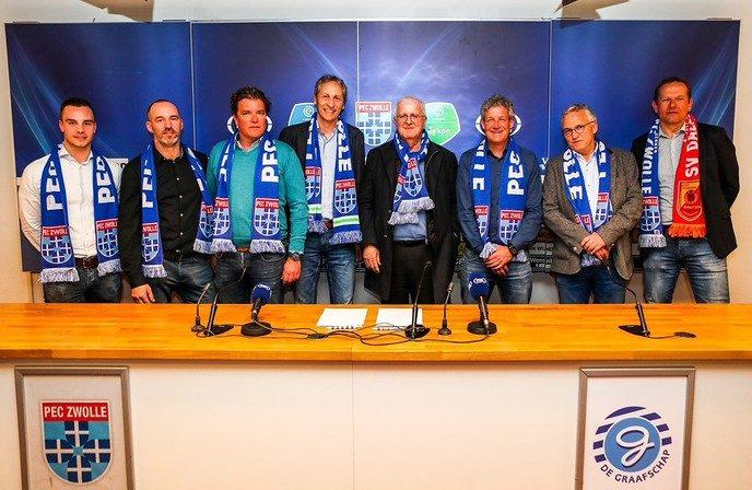 Alliantie versterkt band tussen Dalfser voetbalclubs en PEC Zwolle