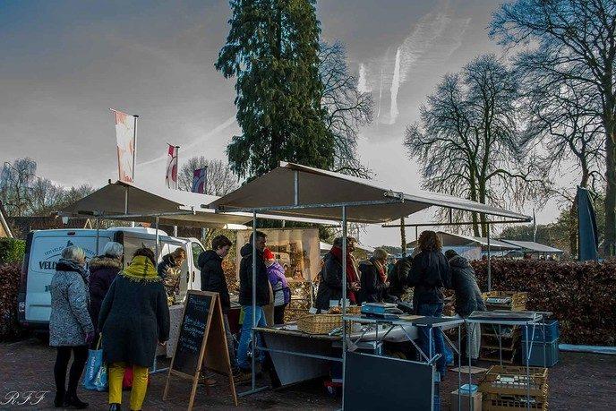 Zaterdag 16 febr. weer boerenmarkt - Foto: Ron Feijen