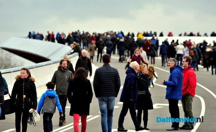 Feestelijke opening busbrug - Foto: Ben Jonkman