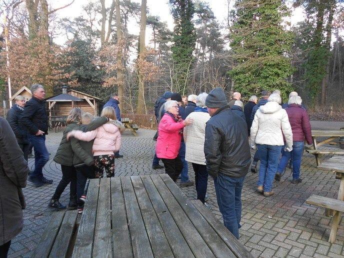 Marie Kievitsbosch Wandeling met Wim Schrijver - Foto: eigen geleverde foto