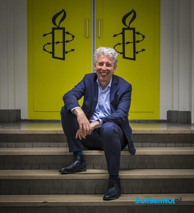 Landelijk directeur Amnesty International in Dalfsen - Foto: Ingezonden foto