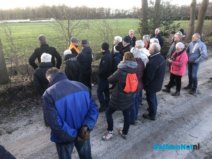 Marie Kievitsbosch Wandeling met Wim Schrijver - Foto: Ingezonden foto