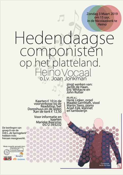 Voorjaarsconcert Heino Vocaal 3 maart 2019 - Foto: eigen geleverde foto