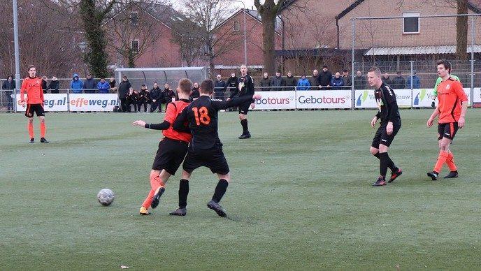 S.V. Nieuwleusen wint overtuigend van Hollandscheveld - Foto: eigen geleverde foto