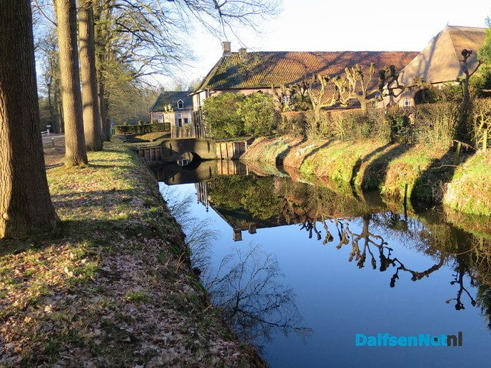 De zon in het water zien schijnen - Foto: Wim