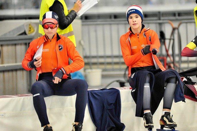 Goed NK voor schaatsers Van Vilsteren en Ten Cate - Foto: eigen geleverde foto