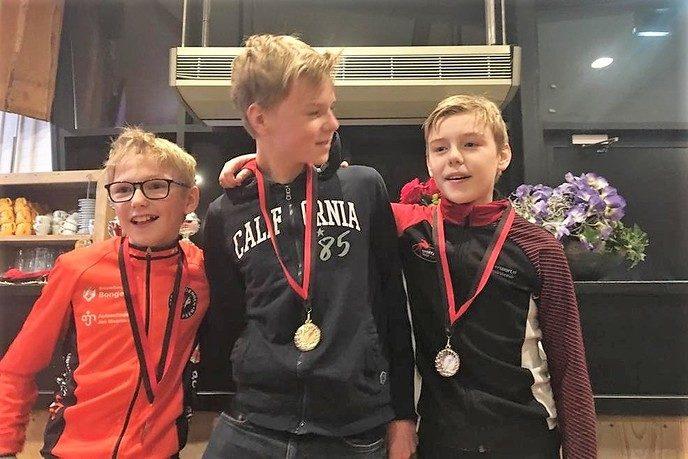 Vier medailles Stokvisdennen bij Perplex Jeugdtoernooi - Foto: eigen geleverde foto