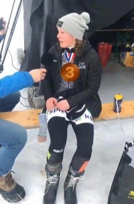 Pien Keulstra op drie bij Grand Prix in Luleå - Foto: eigen geleverde foto