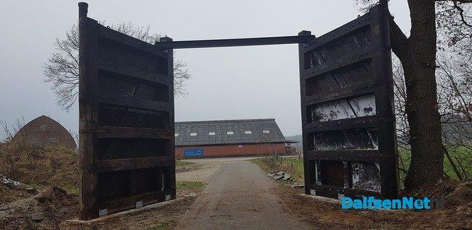 Oude sluisdeuren weer in gebruik - Foto: Ingezonden foto
