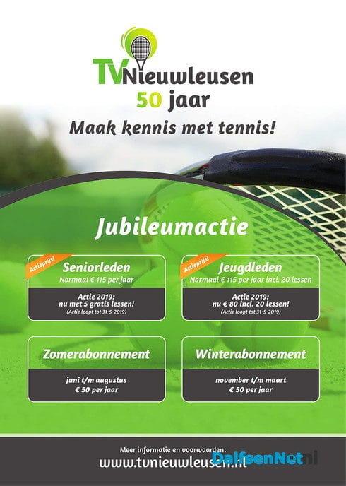 Aanbieding Tennisvereniging Nieuwleusen - Foto: Ingezonden foto