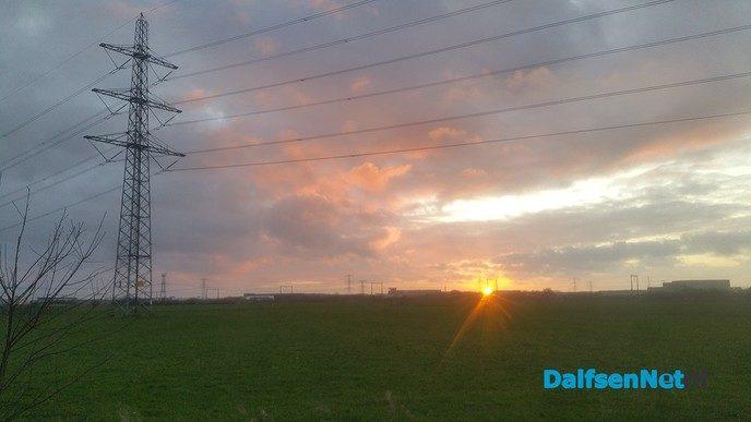 Zonsondergang - Foto: Ingezonden foto