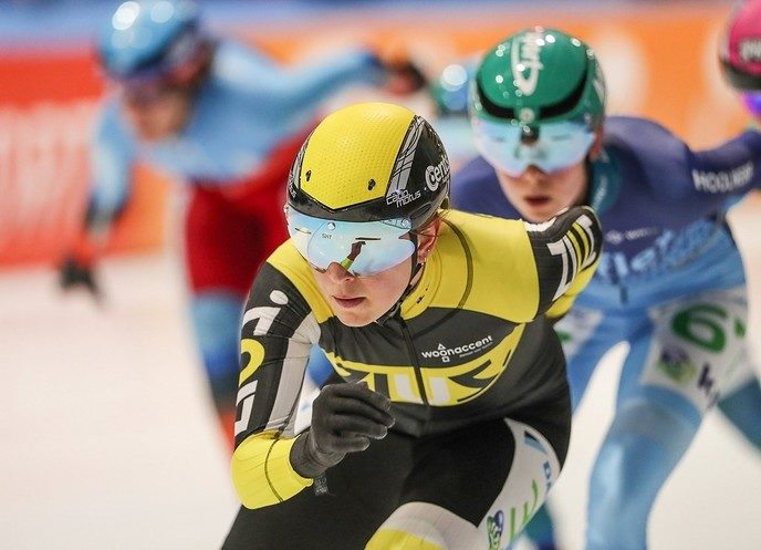 Chantal Hendriks laat zich zien bij finale KPN Cup - Foto: eigen geleverde foto