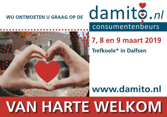 Opbouw Damito consumentenbeurs in de Trefkoele+ gestart