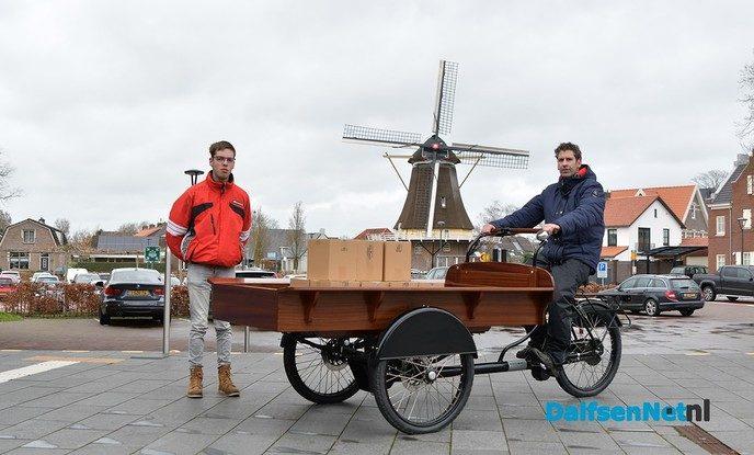Elektrische bakfiets voor 'Joris Bezorgt' - Foto: Johan Bokma