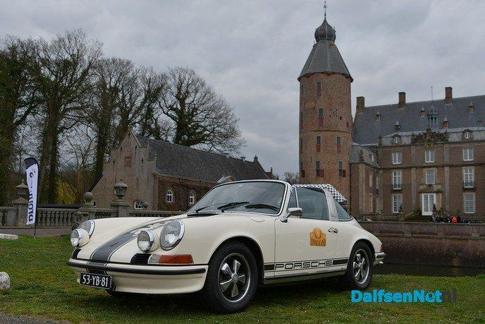 Unieke beelden van de IJssellandrally bij Kasteel Rechteren - Foto: Johan Bokma